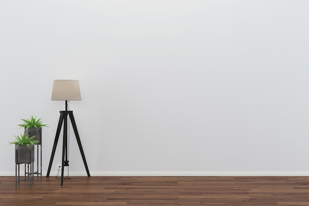 wood floor wall living room template table lamp background interior