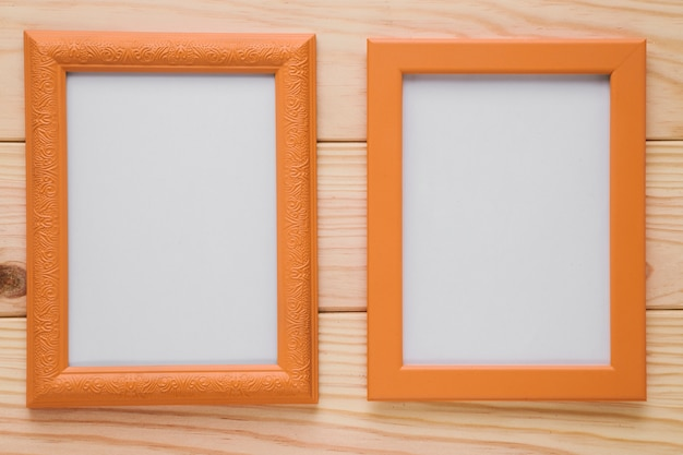 Wood frames with blank space Free Photo