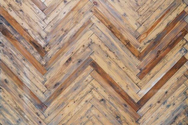 나무 패널 바닥 패턴, 오래 된 벽 질감 배경. 프리미엄 사진