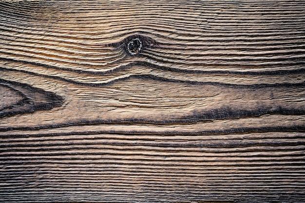 木の質感背景古いパネル Premium写真