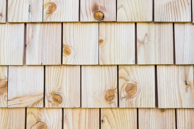 Wood texture background with old panels Premium Photo