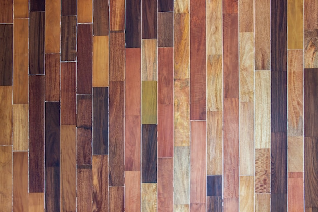 Wood texture. the surface of the brown natural wooden background for design decoration interior and exterior. Premium Photo