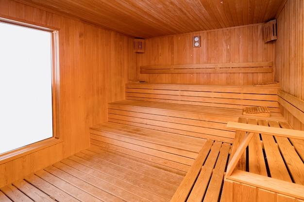 Wood turkish sauna Free Photo