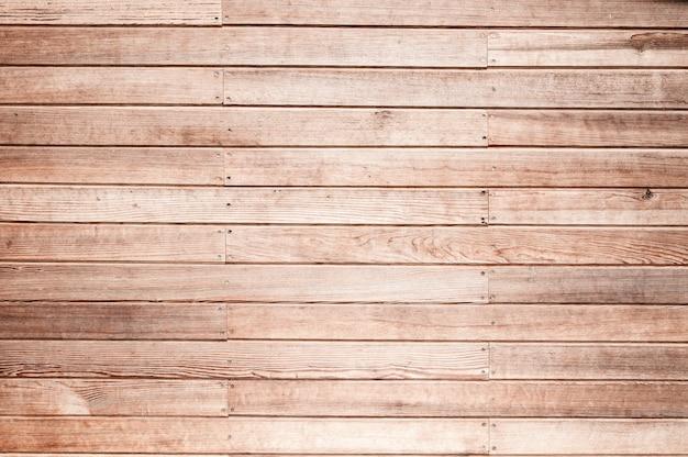 背景の木製の壁板テクスチャ Premium写真