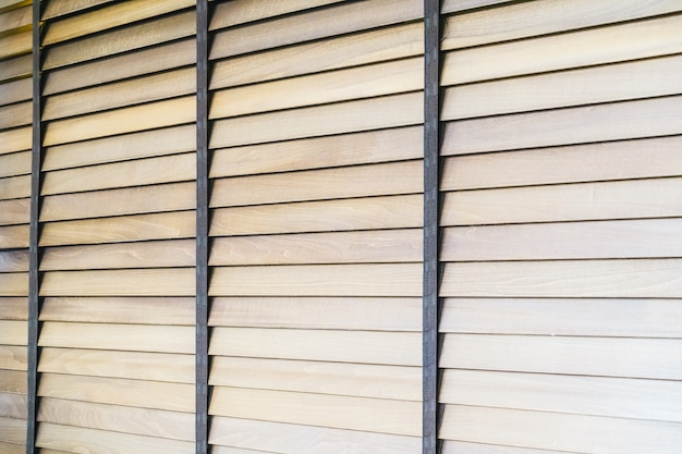 Wooden blinds Free Photo