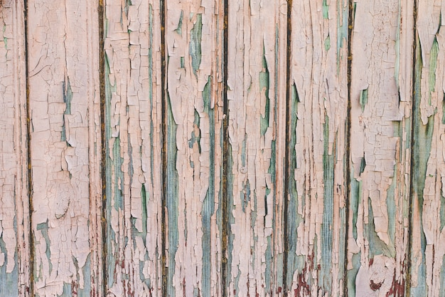 Wooden boards grunge background Premium Photo