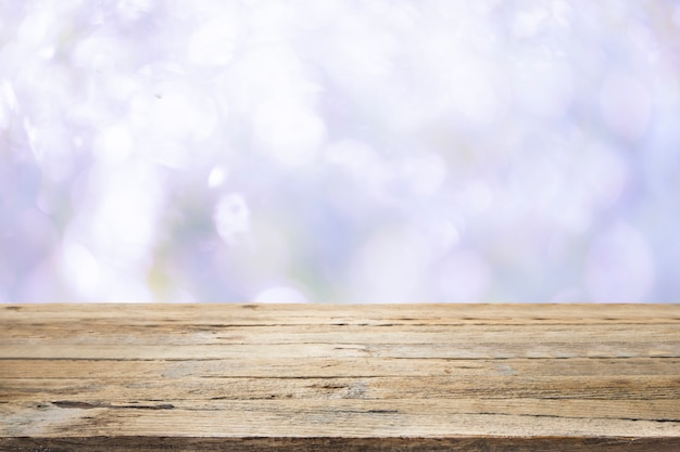 Деревянный стол на пляже Бесплатные Фотографии