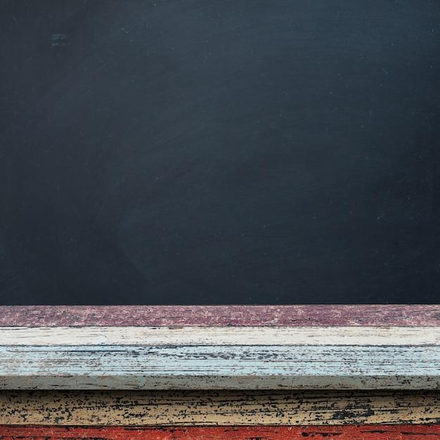 fine wooden floor with a blackboard 8