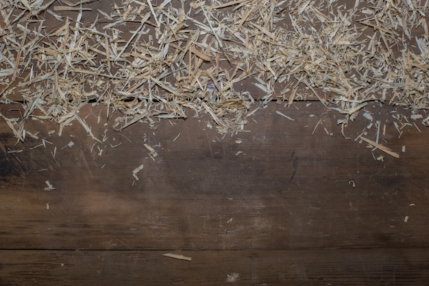 Wooden Floor With Straw Photo Free Download