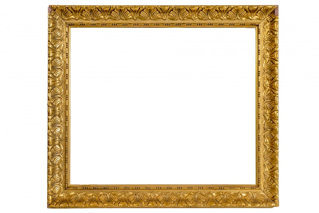 Wooden old picture frames Premium Photo