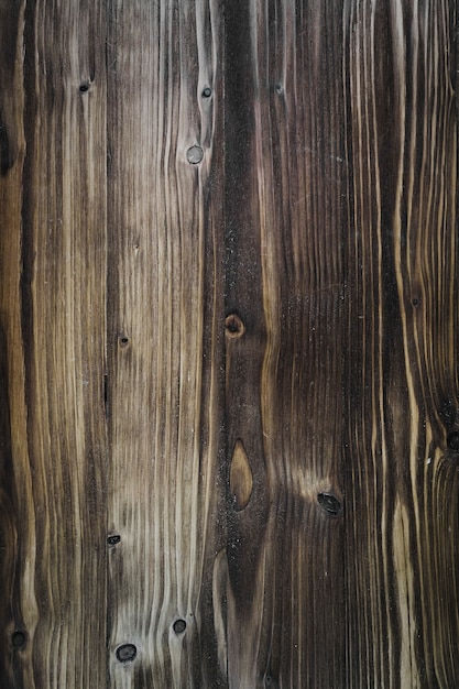 Wooden surface with rustic appearance Free Photo