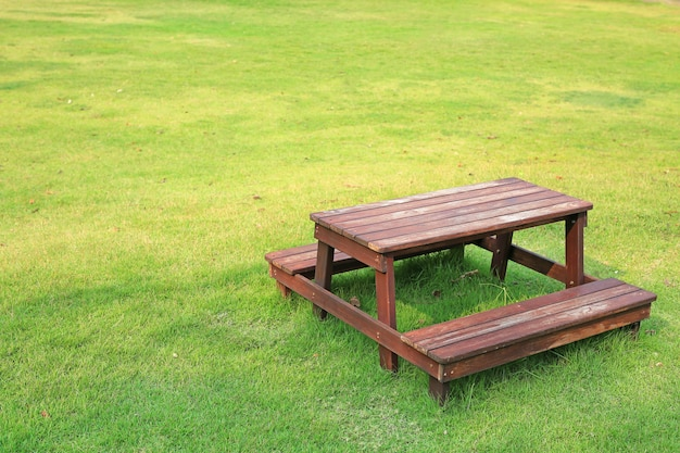 Premium Photo Wooden Table And Chairs, Wooden Table Chairs For Garden