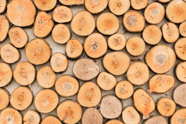 木製のテクスチャ背景。 Premium写真