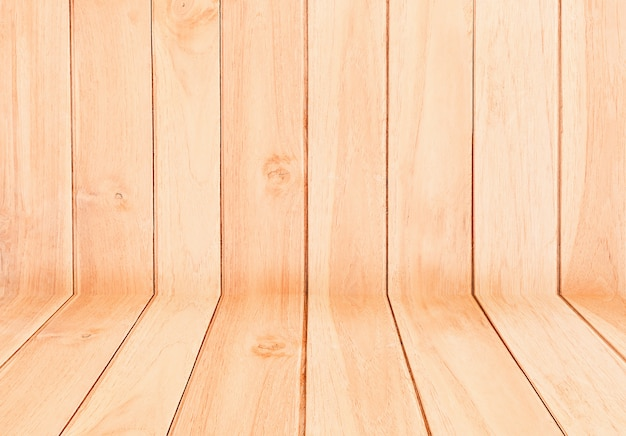 Wooden texture , empty wooden table background. for display or montage your products. Premium Photo