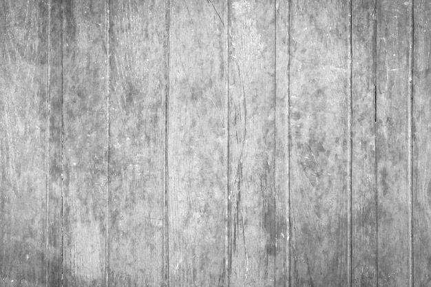 Wooden Wall Texture In Black And White Rustic Background Premium Photo