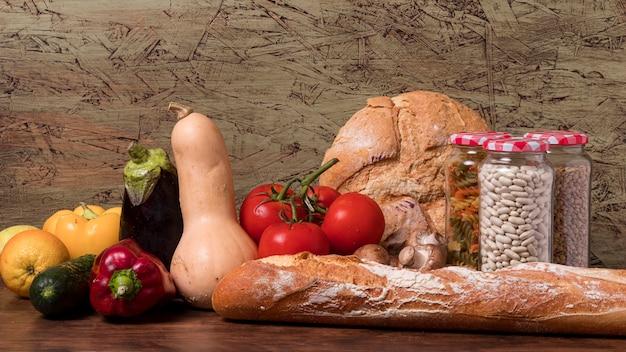 Празднование всемирного дня еды с урожаем Бесплатные Фотографии