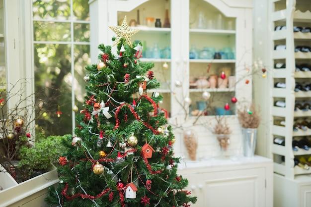 カフェの装飾xマス Premium写真