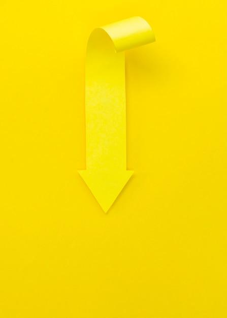 Желтая стрелка вверх Бесплатные Фотографии