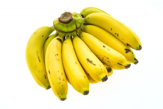 Yellow banana and fruit Free Photo