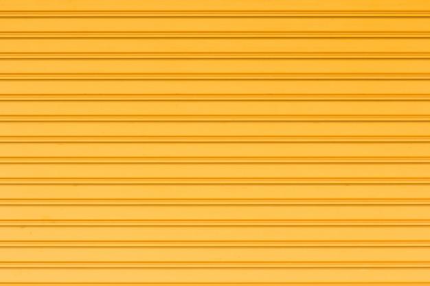 Yellow container steel background Premium Photo