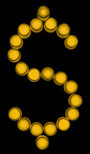 Yellow dollar sign currency exchange Free Photo
