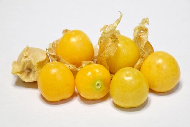 Yellow loquat Free Photo
