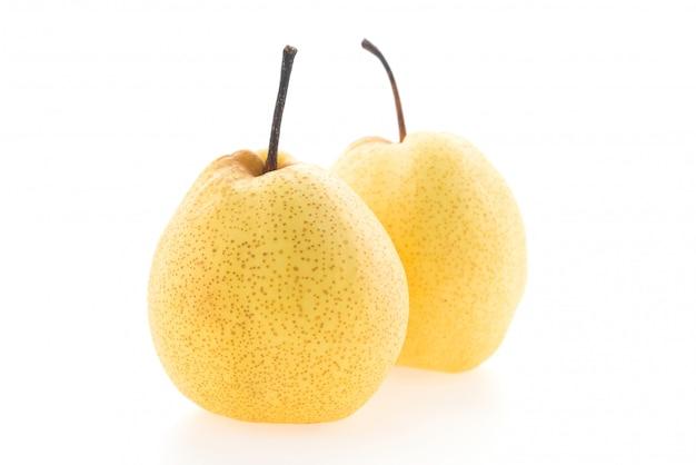 Yellow pear Free Photo