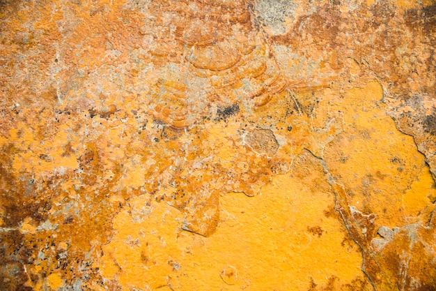 黄色い石のテクスチャ背景 無料写真
