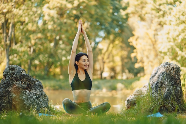 Yoga girl Free Photo