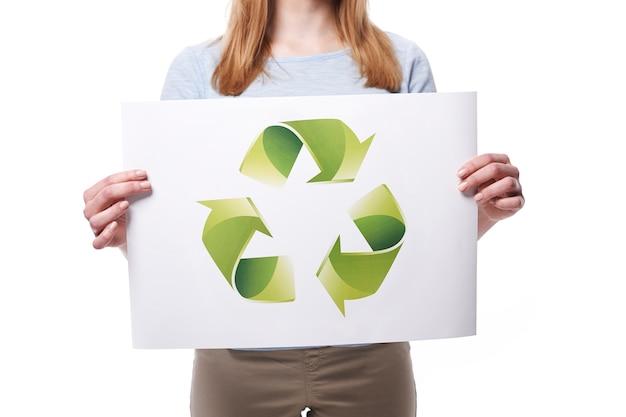 Puoi aiutare il nostro pianeta riciclando Foto Gratuite