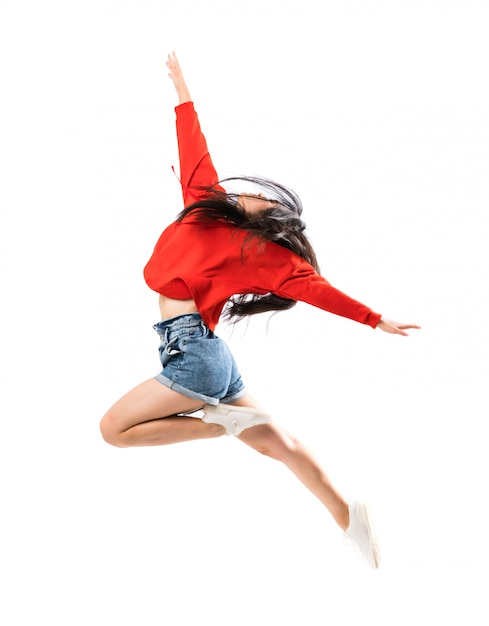 Young asian dancer Premium Photo