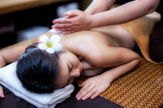 Asian spa massage my
