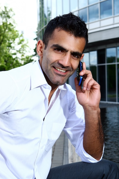 Young and attractive business man Free Photo