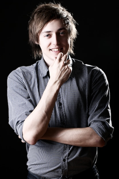 Young and attractive guy Free Photo