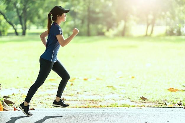 Running en pleine nature