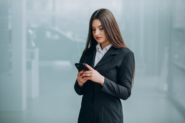 Young business woman inside the office Free Photo