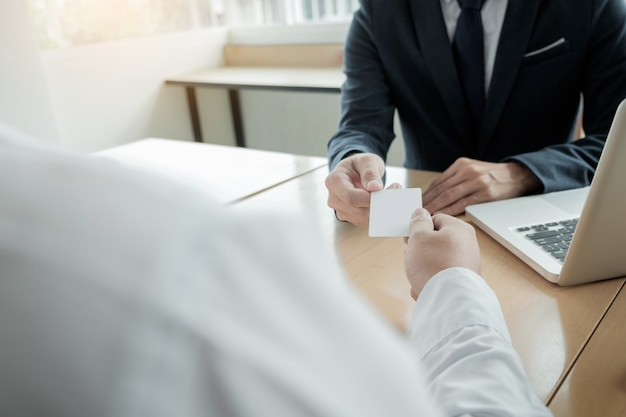 Young businessman at the hiring interview in the office meeting at young businessman at the hiring interview in the office meeting at office lobby changing colourmoves