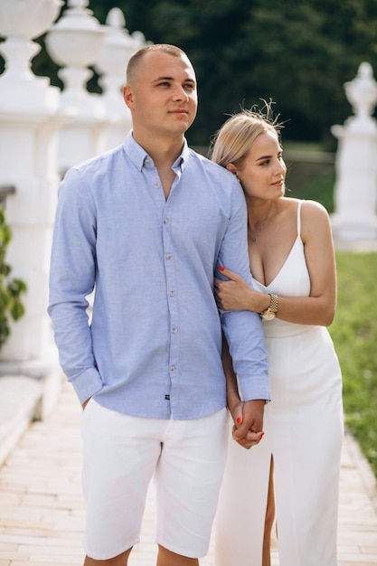Young couple future bride and groom Free Photo