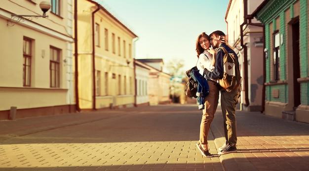 Young couple having fun outdoors 1140 469