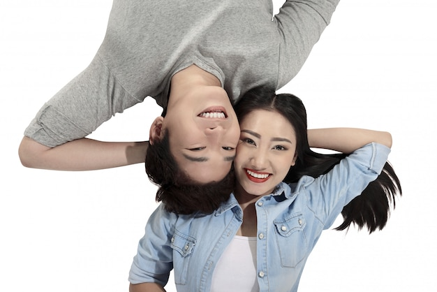 Young couple in love Premium Photo