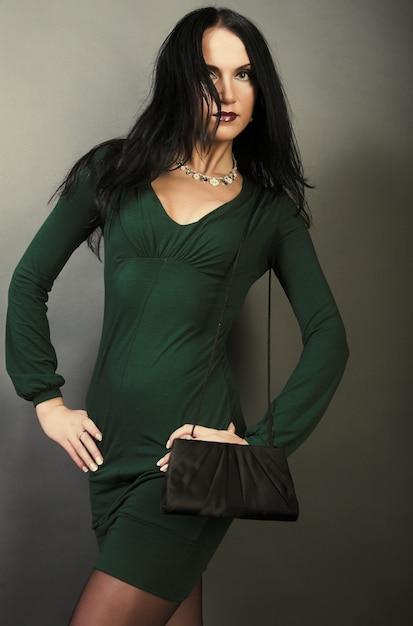 Young fashion model Premium Photo
