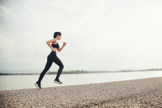 Young fitness woman runner Free Photo