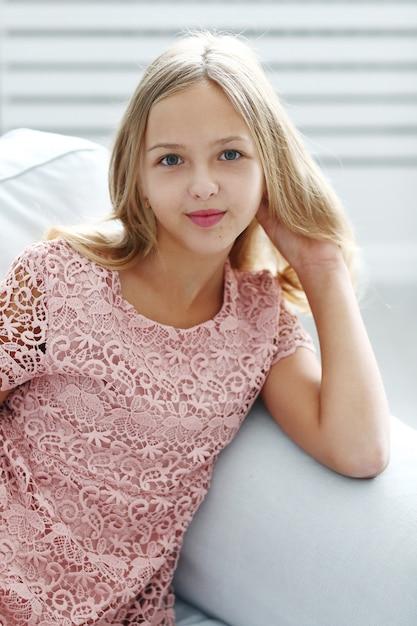 Young girl posing Free Photo