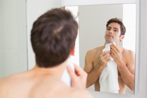 self Bathroom mirror