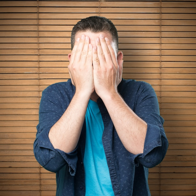 картинки закрывать ладошкой лицо керри