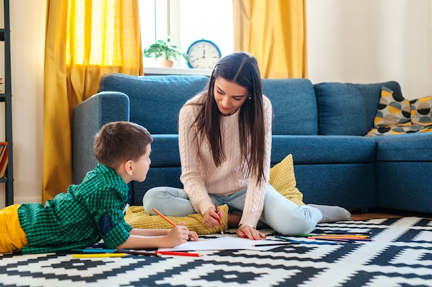 Image result for family drawing together at home