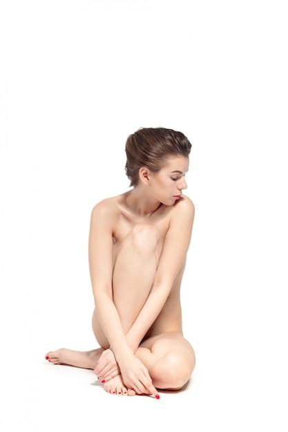 Amature Naked On The Floor