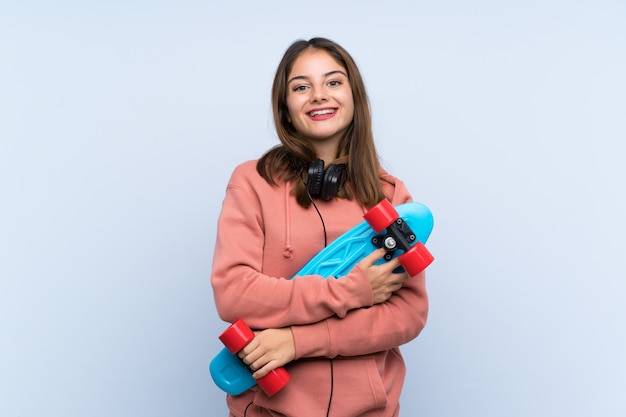 Young skater girl Premium Photo