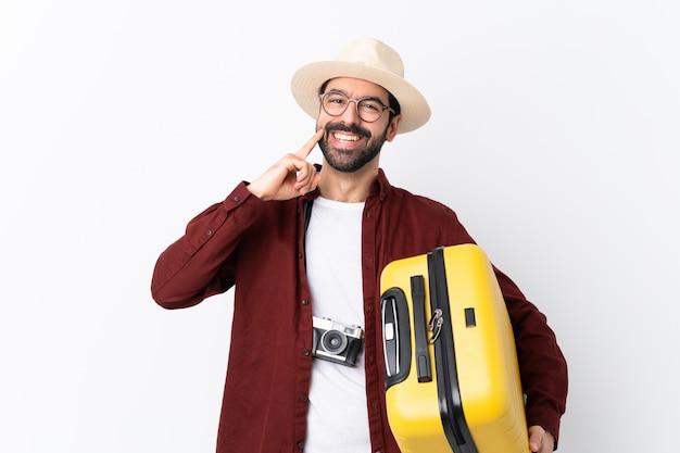 Young traveler man Premium Photo