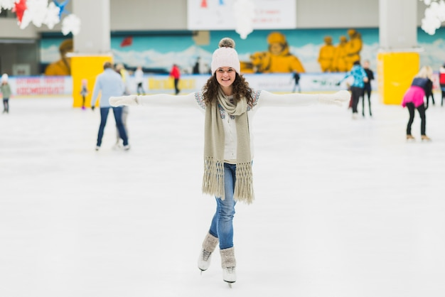 Image result for woman skating for fun